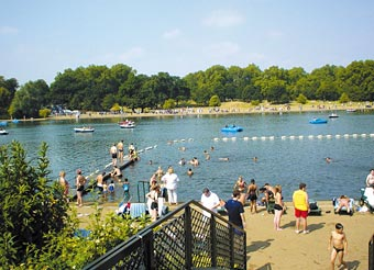 The Serpentine Lido