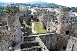 Conwy Castle コンウィ城