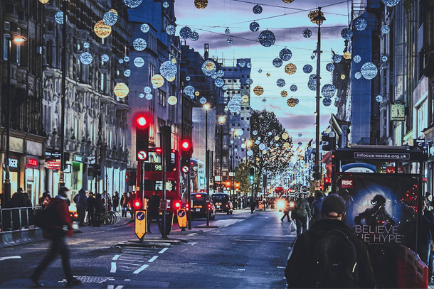 「X'mas illumination in London」渡邉 一正さん